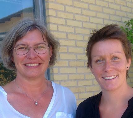 Marie-Louise Stoltz och Ellinor Stenis, lärare på Västra Stenhagenskolan