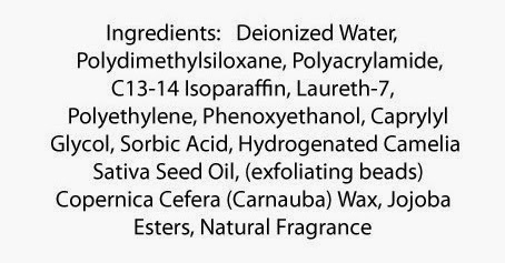 Erase by Luxurience Ingredients