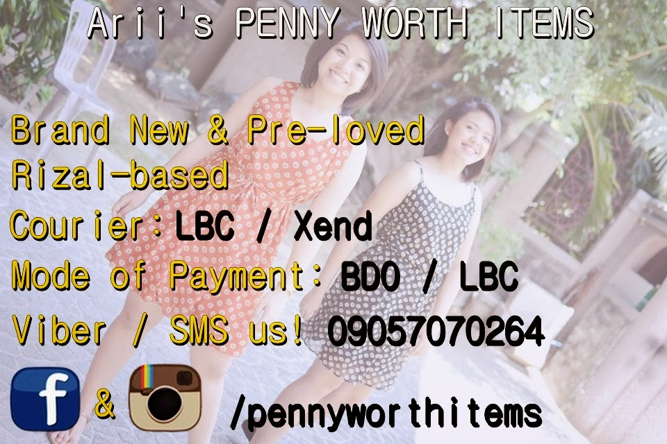 Arii's Penny Worth Items
