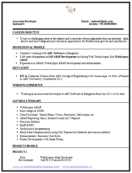 how to write a resume for experienced person science resume template