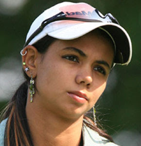 Hot Indian Glamorous Golfer Sharmila Nicollet