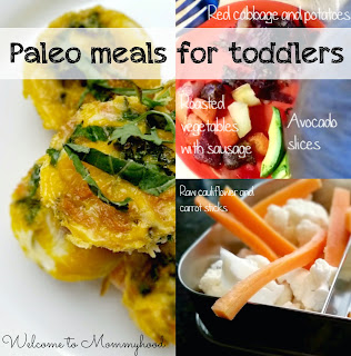 Paleo kids meals by Welcome to Mommyhood! Here is a typical day of meals for my paleo toddler! {Welcome to Mommyhood} #paleokids, #paleo, #healthykidsmeals