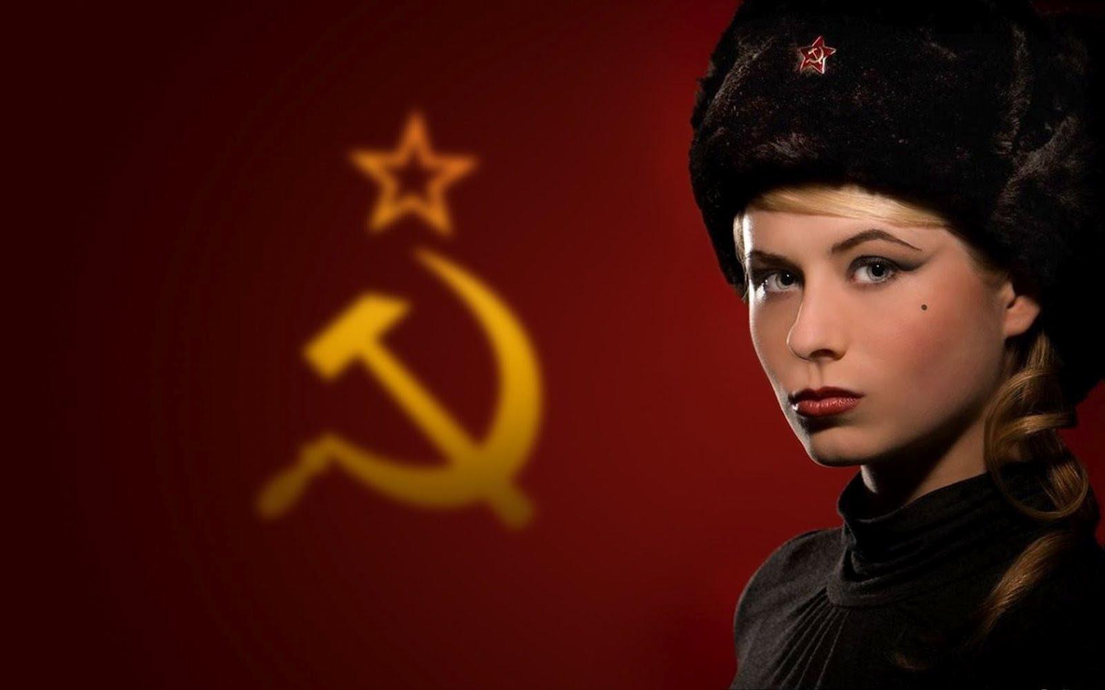 Девушка политика социализм