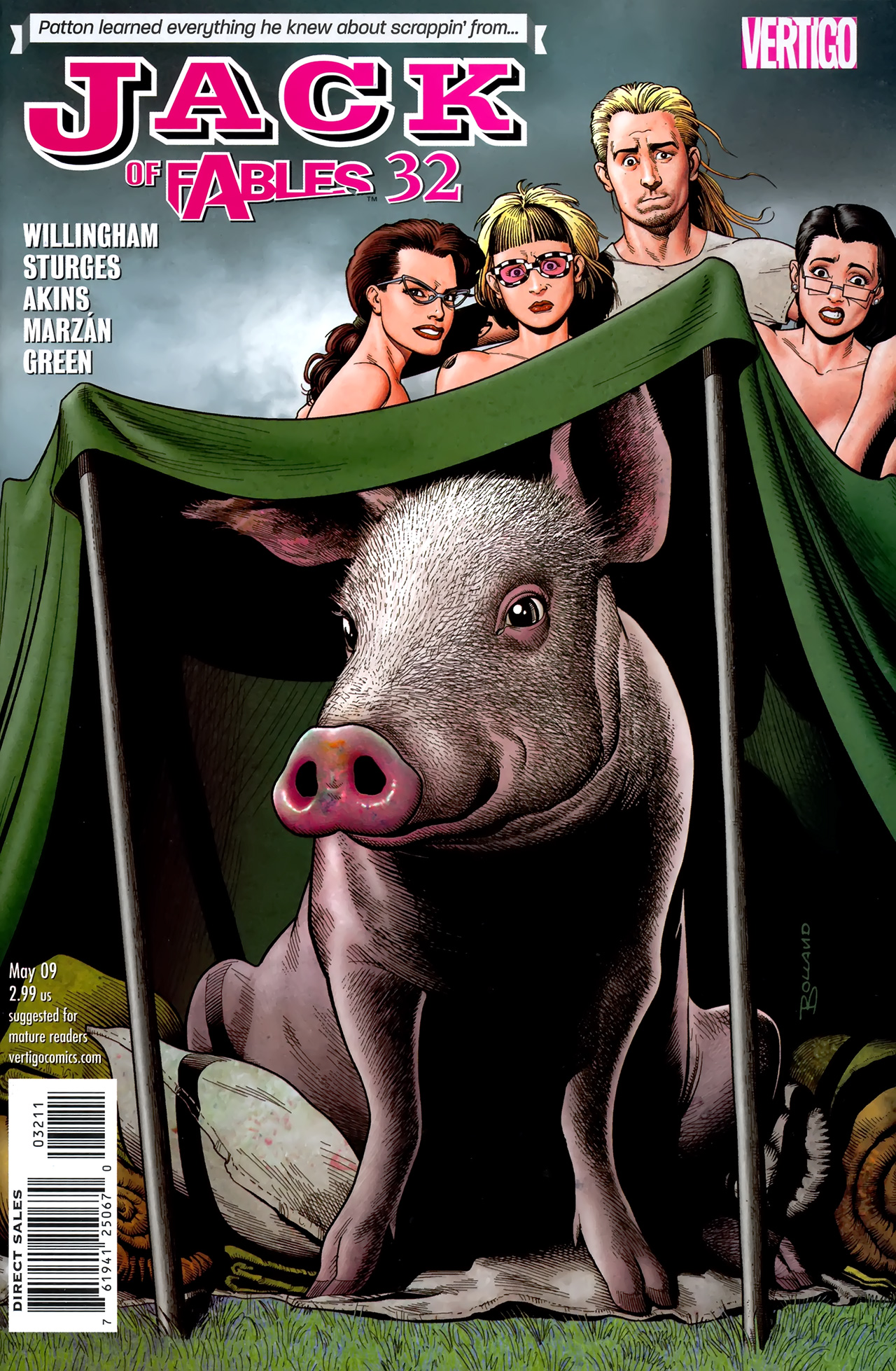 Jack Of Fables issue 32 - Page 1