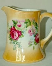 Rose Lustre Pitcher