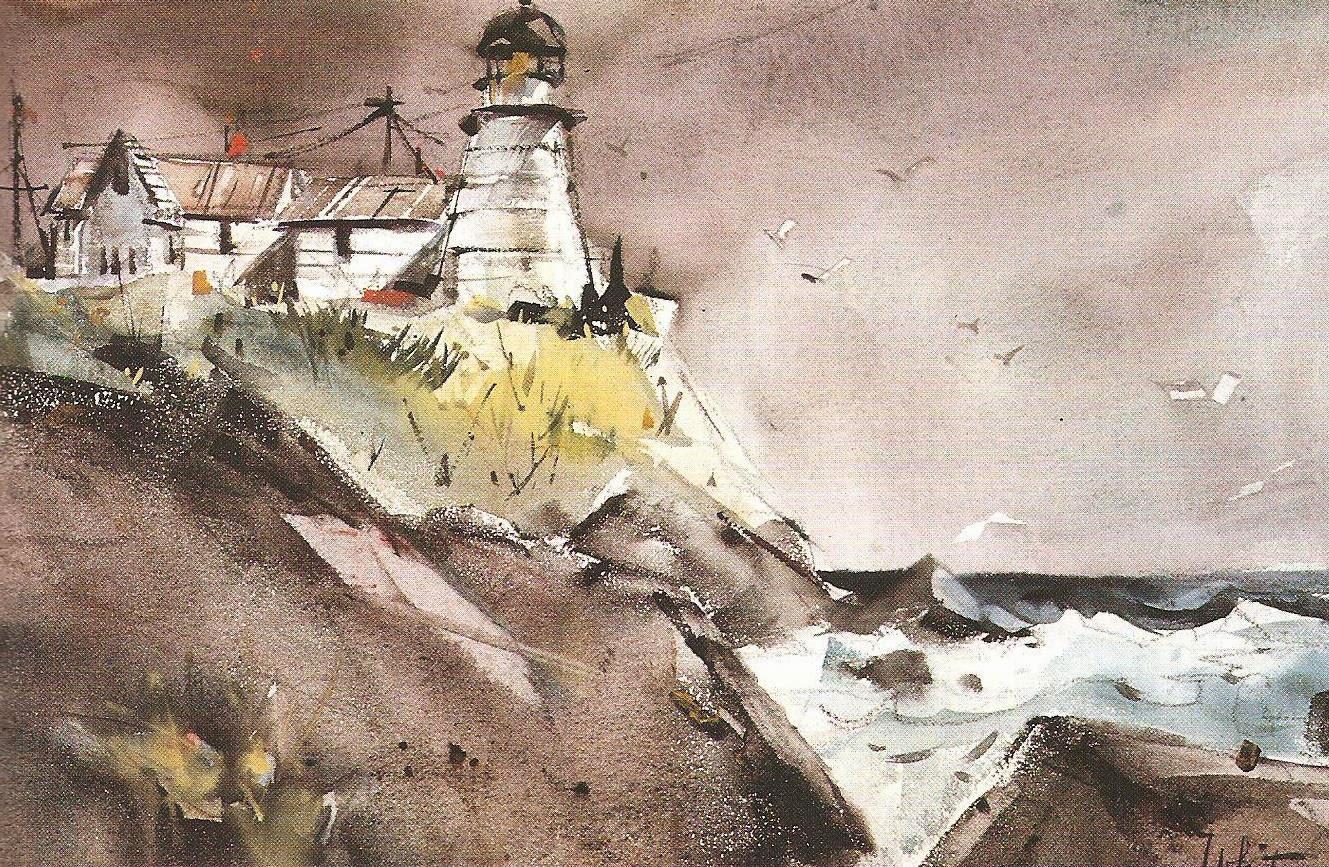 Edgar Whitney painting