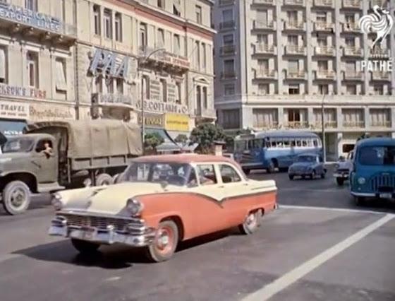 Η μαγευτική Αθήνα του 1961 σε ένα συγκλονιστικό βίντεο