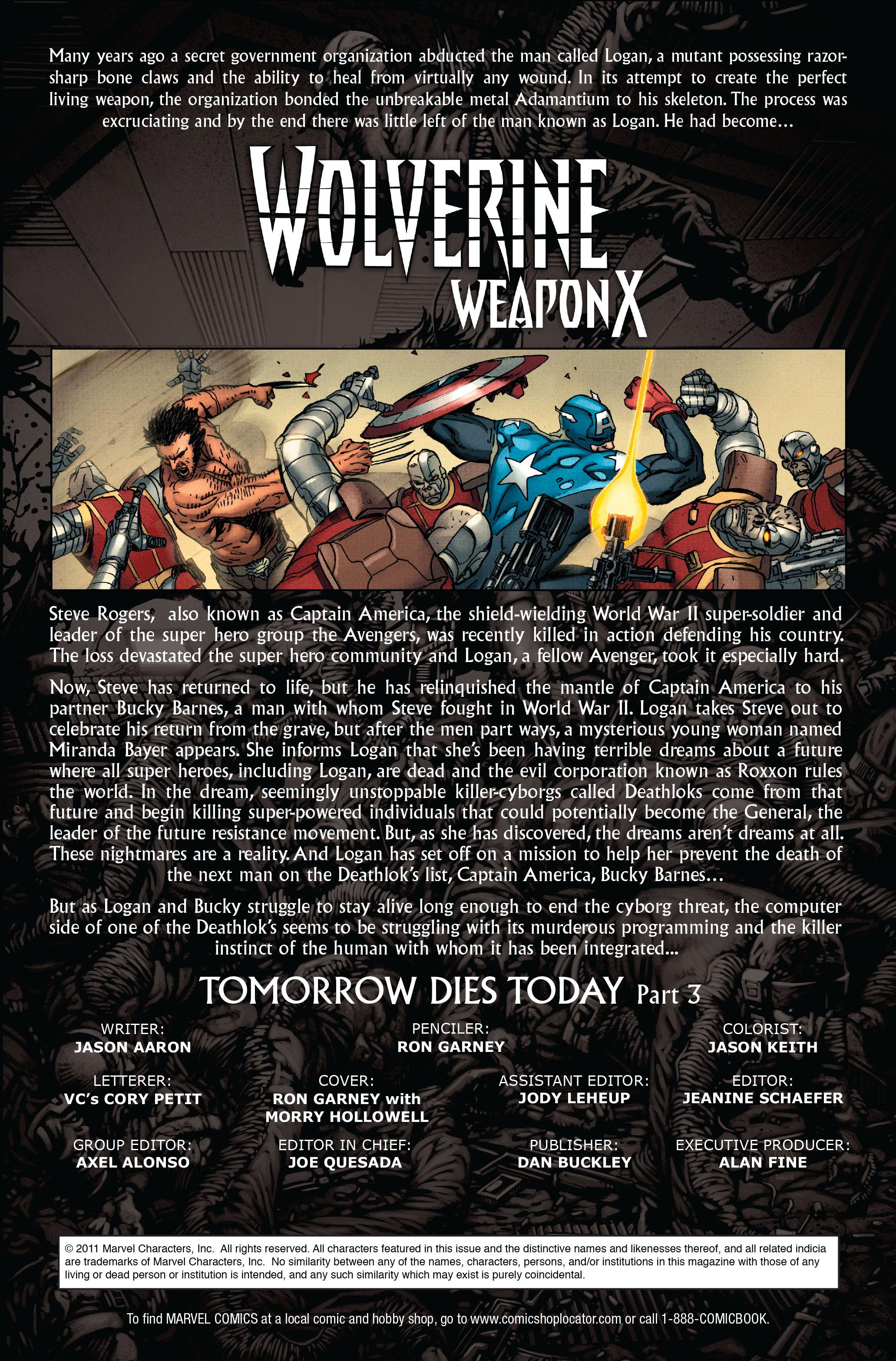 Wolverine: Weapon X #13 #4 - English 2