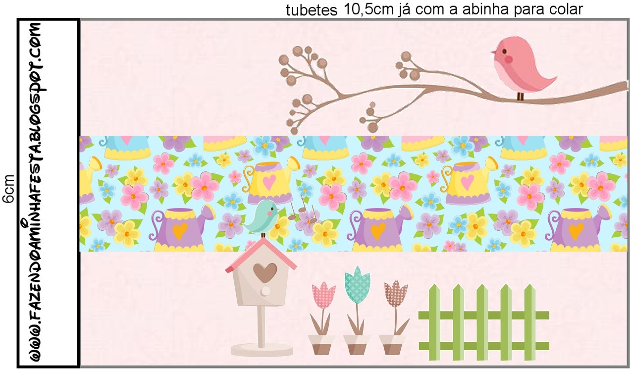 decoracao jardim encantado vintage : decoracao jardim encantado vintage: Festas Infantis: Kit de festa Personalizado com tema Jardim Encantado