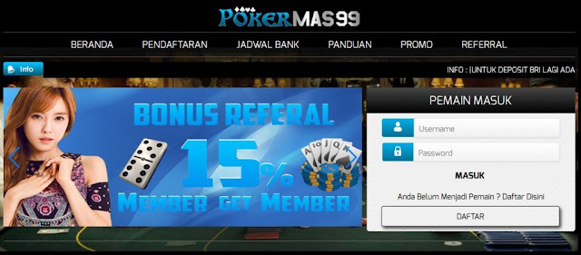 judi poker on line ditangkap
