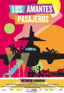 Los amantes pasajeros. Cartel de la película