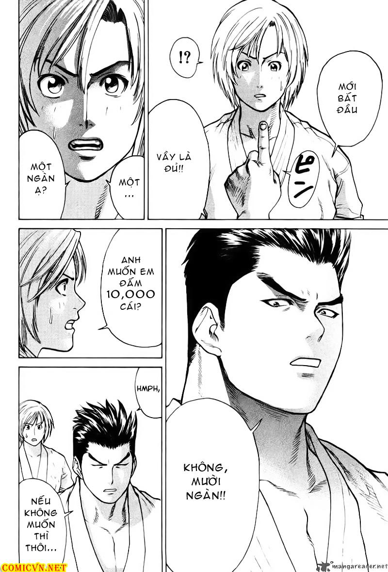 Karate Shoukoushi Kohinata Minoru chap 18 Trang 10