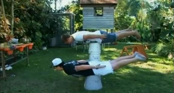 the planking craze. australian planking craze.