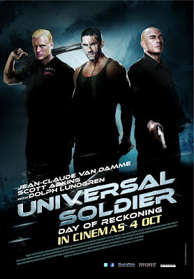 Universal Soldier Day of Reckoning 2012 film movie poster