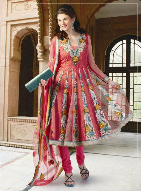 New anarkali frock collection 2012
