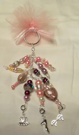 Pink Dangle Christmas Ornament