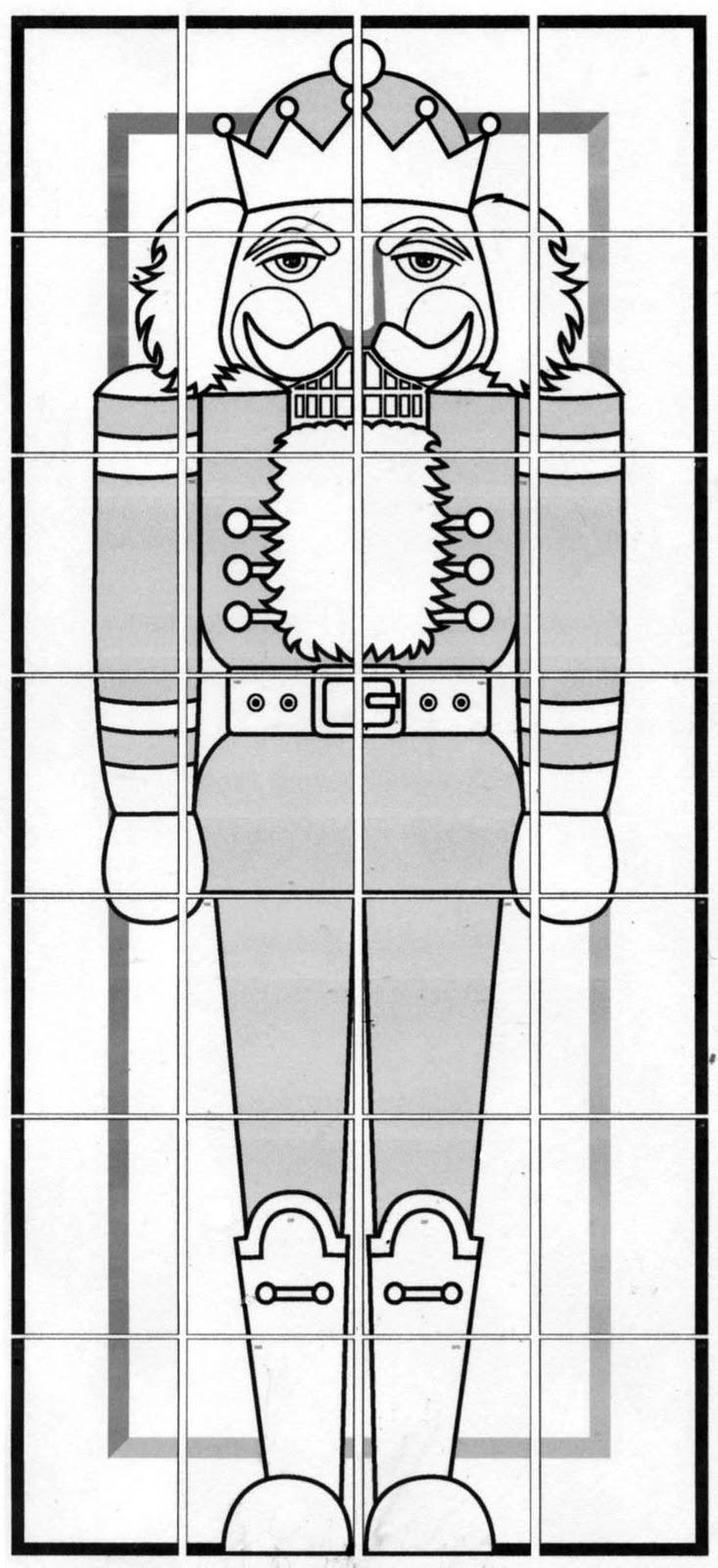 Nutcracker Diagram Art Projects