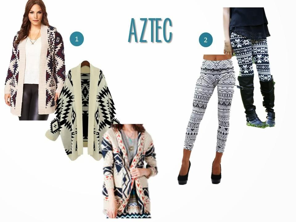 Aztec Designs Clothing or Aztec y Type Design