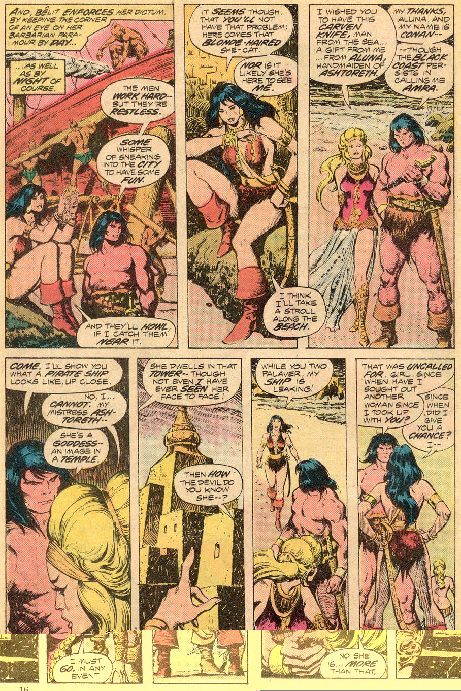 Conan the Barbarian (1970) Issue #70 #82 - English 11