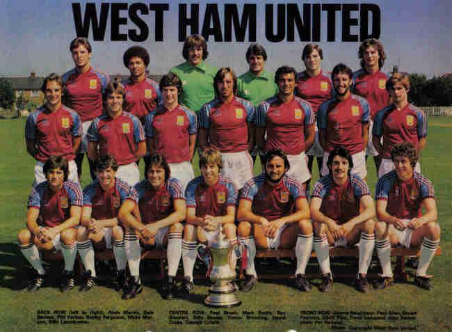 Bot es para sempre west ham united 1982 for Villa eintracht