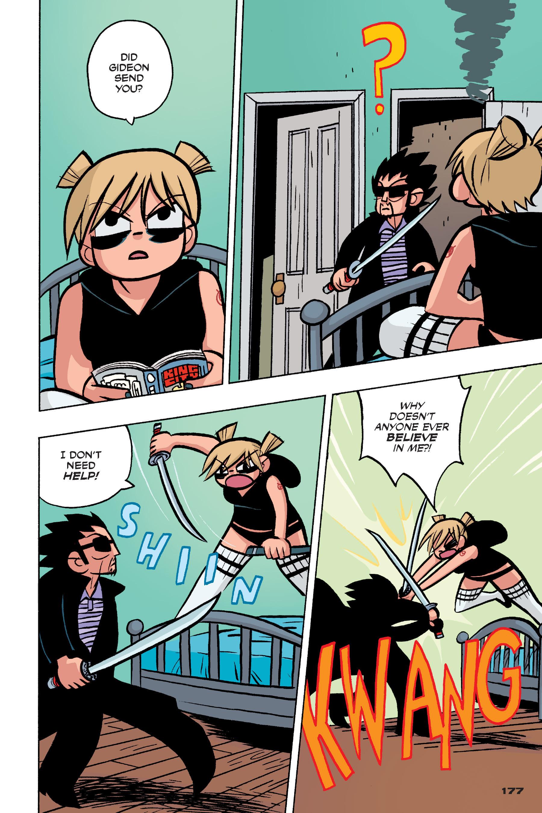 Read online Scott Pilgrim comic -  Issue #4 - 174