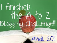 A to Z Blogging Challenge for 2011