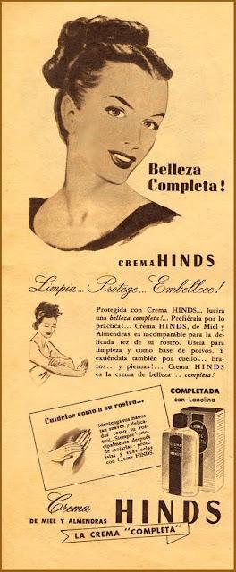 publicidad retro, anuncio de 1947