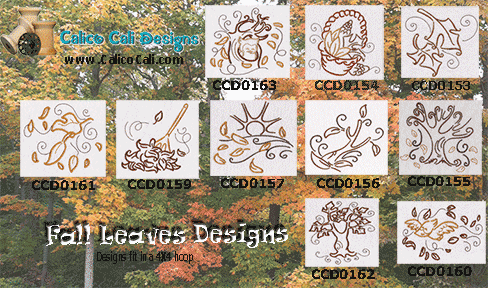 Fall Leaves Designs