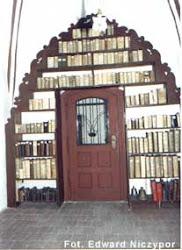 Biblioteka łańcuchowa w Bazylice Mniejszej w Oleśnicy