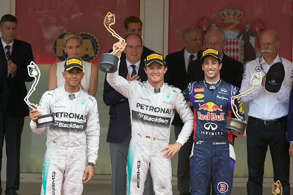 podio gp monaco formula 1