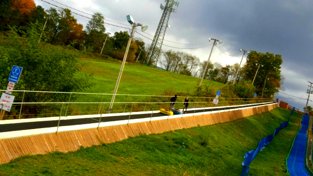 Fall Fun At Blue Lightning Tubing - Snow-less Tubing & Beautiful Fall Foliage One Savvy Mom onesavvymom blog