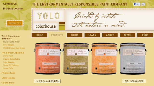 YOLO Paint Website