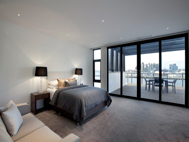Photo of second large modern bedroom in the house