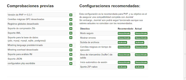 DriveMeca instalando Joomla 3.2