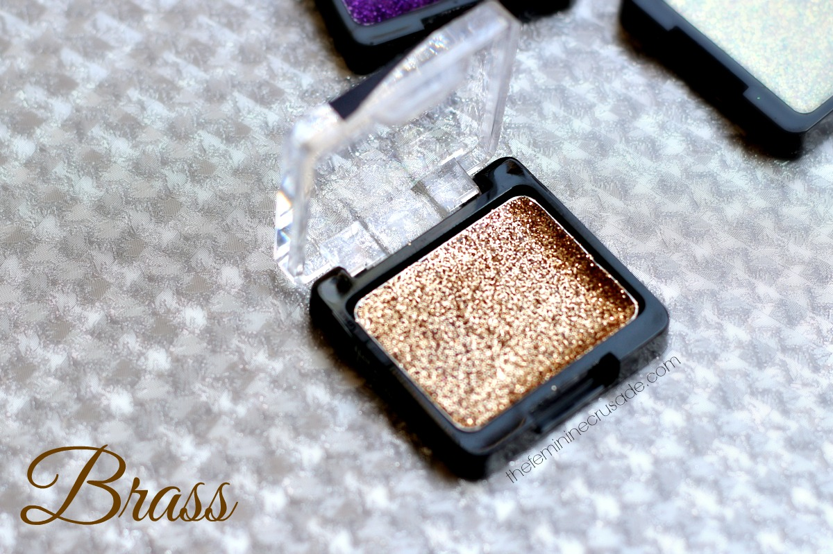 Wet n Wild Color Icon Glitter Singles - Brass