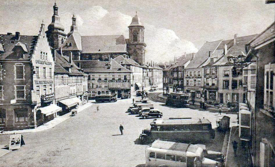 Saint-Avold France  city images : transpress nz: vehicles in Saint Avold, France, late 1930s