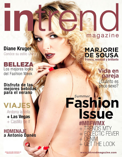 Actress, Model @ Marjorie de Sousa - In Trend, June uly 2015