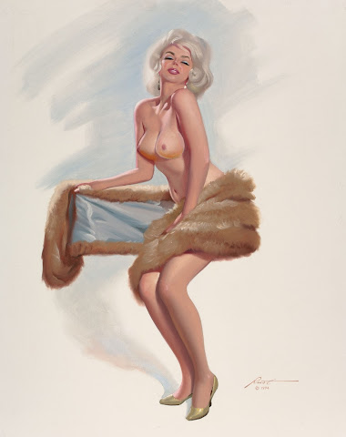 nude pin up