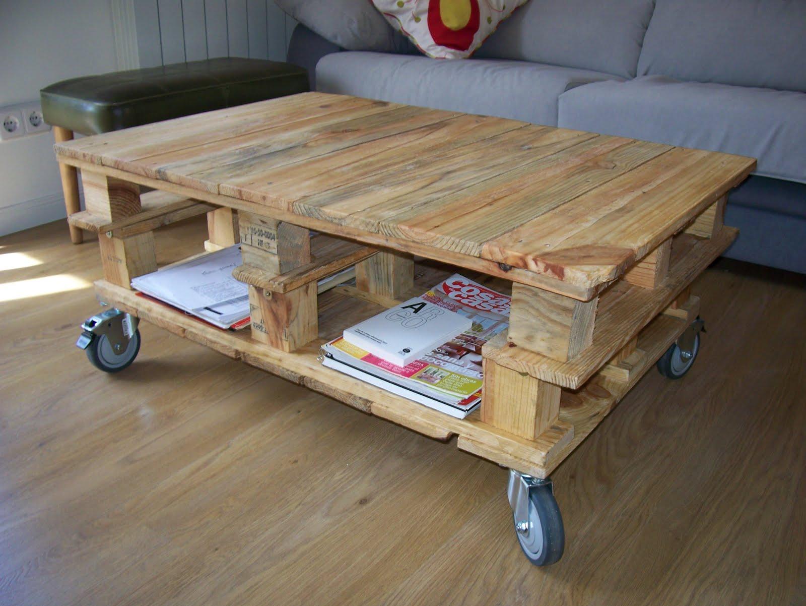 Chiribambola nuevo proyecto mesa de pallets con ruedas for Mesa con ruedas ikea