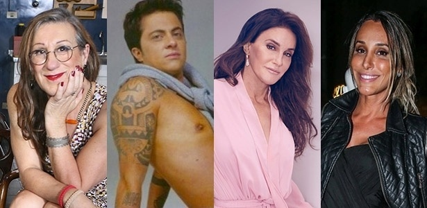 Famosos e seriados ajudam a quebrar preconceitos contra transgêneros - Laerte, Thammy, Caitlyn Jenner e Carol Marra: transgêneros famosos ajudam a causa