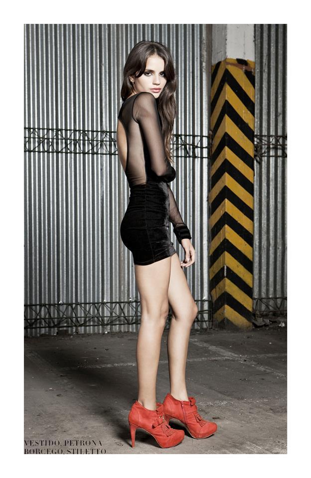 vestidos cortos invierno 2013 Delaostia
