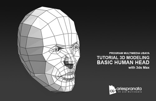 Tutorial 3D Modeling: Basic Human Head with 3ds Max