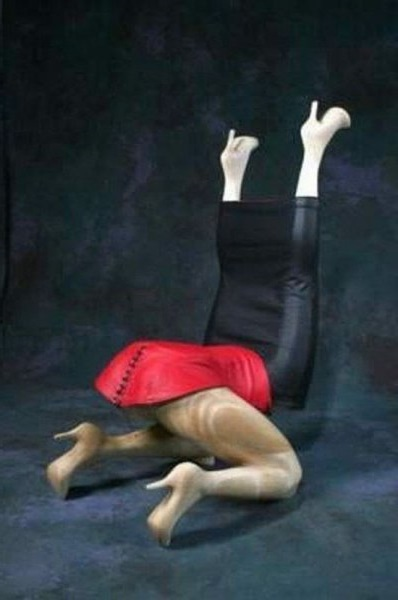 После сидения в таком кресле можно