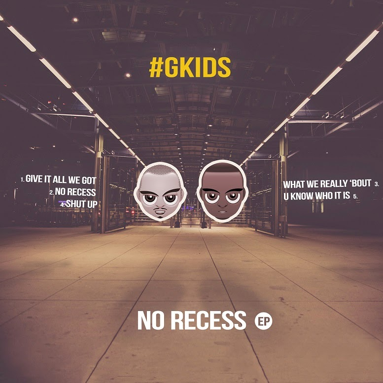 #gKIDS - No Recess (EP) - album artwork