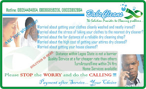 BABSCLEANS... The Solution Provider to Cleaning problems