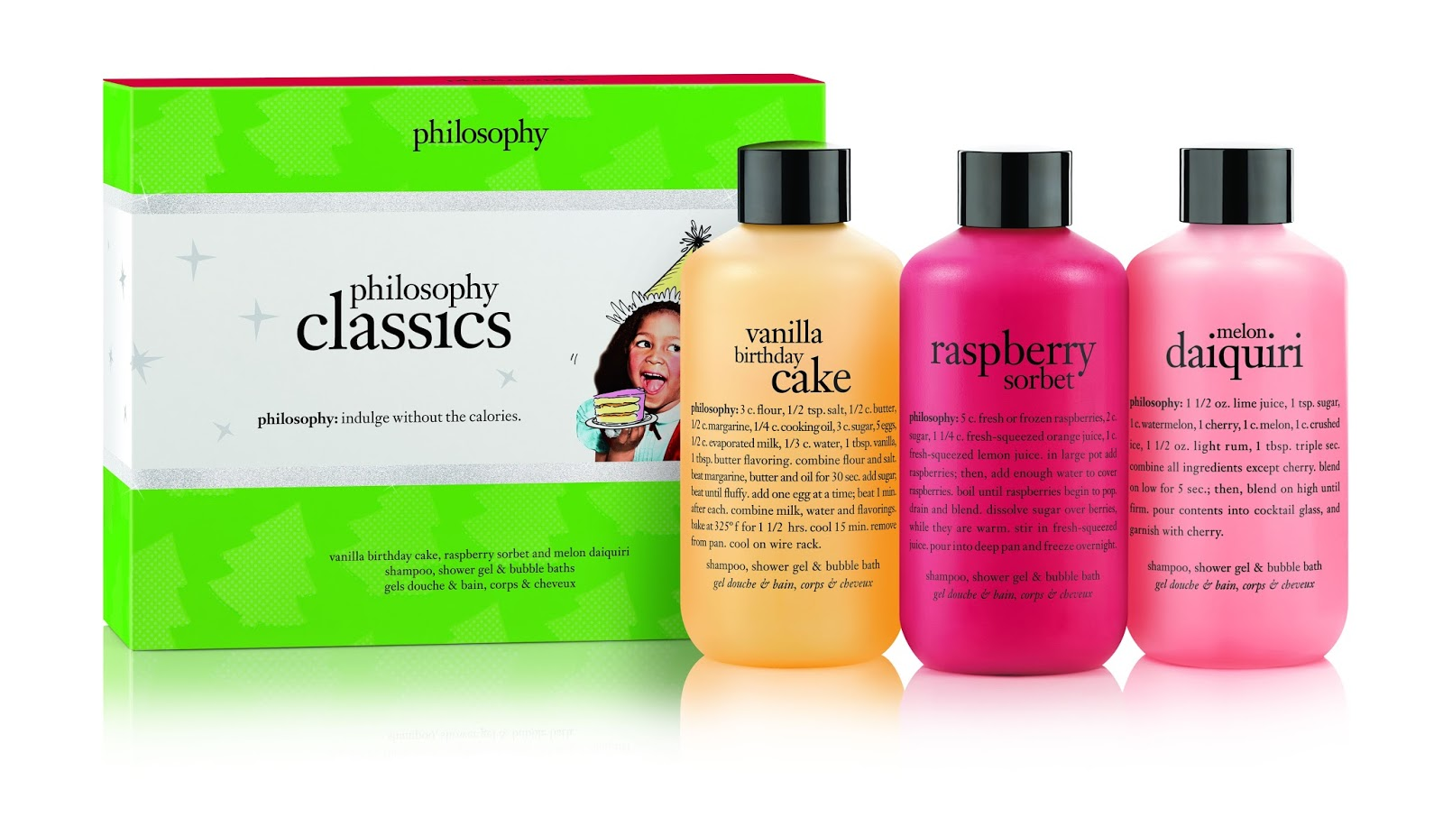 Philosophy Christmas Gifts Philosophy Classic Gift Set 3