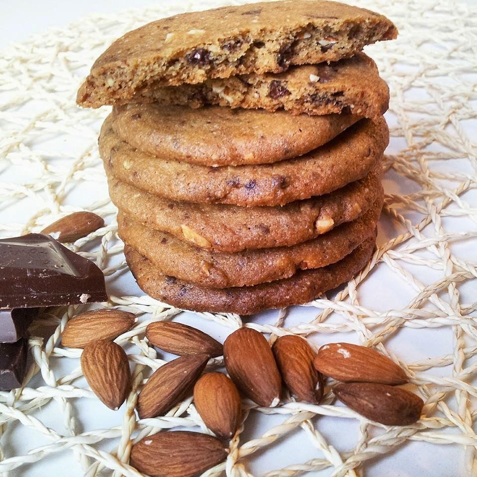 Čoko cookies sa bademima