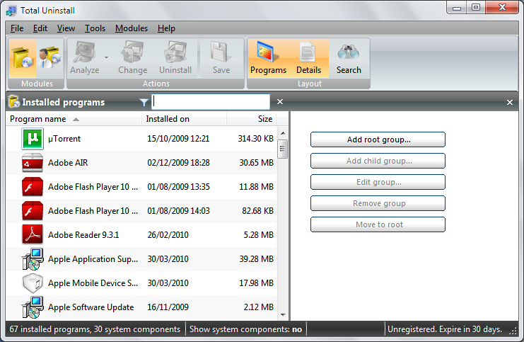 Download Total Uninstall Professional