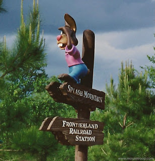 Signpost Sign Post Brer Rabbit Disney World