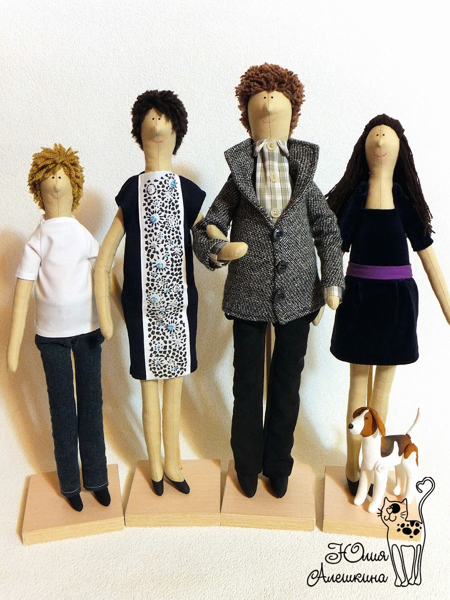 куклы из ткани на заказ
